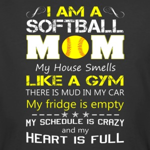 SOFTBALL MOM SHIRT FOR MOTHER DAY - Men's 50/50 T-Shirt