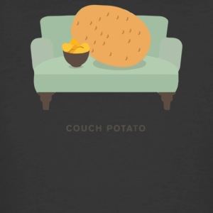 Couch Potato Pun - Men's 50/50 T-Shirt