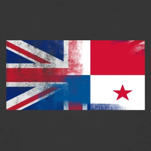 British Panamanian Half Panama Half UK Flag - Men's 50/50 T-Shirt