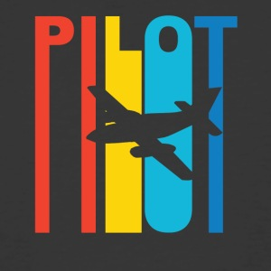 Vintage Pilot Graphic - Men's 50/50 T-Shirt