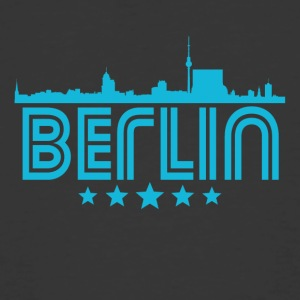 Retro Berlin Skyline - Men's 50/50 T-Shirt
