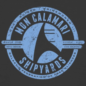 Mon Calamari Shipyards - Men's 50/50 T-Shirt