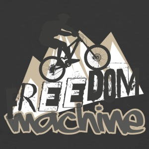 Freedom Machine Mountain Bike - Men's 50/50 T-Shirt