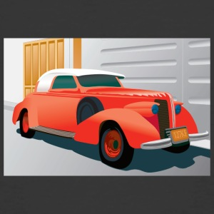 RED BUICK 1938 SPECIAL CONVERTIBLE - Men's 50/50 T-Shirt