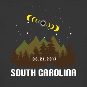 Total Solar Eclipse South Carolina 08.21.2017 - Men's 50/50 T-Shirt