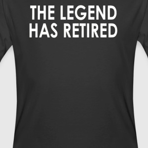 he Legend Has Retired - Men's 50/50 T-Shirt