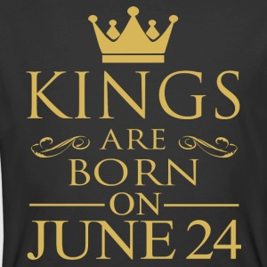 Kings are born on June 24 - Men's 50/50 T-Shirt