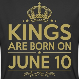 Kings are born on JUNE 10 - Men's 50/50 T-Shirt