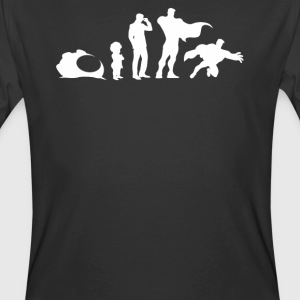 Evolution of A Superhero - Men's 50/50 T-Shirt