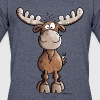 Naughty Elk - Elks - Deer - Moose - Gift - Forest - Men's 50/50 T-Shirt