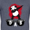 dab glace panda dabbing football touchdown mooving - Men's 50/50 T-Shirt