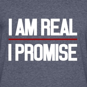 I AM REAL I PROMISE - Men's 50/50 T-Shirt