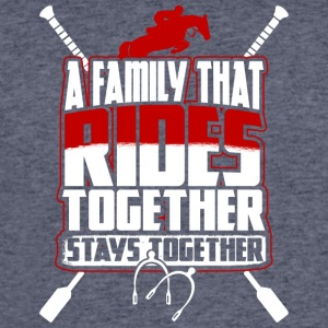 A Family That Rides Together Stays Together TShirt - Men's 50/50 T-Shirt