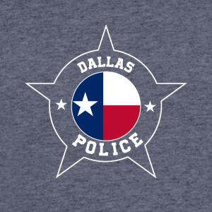 Dallas Police T Shirt - Texas flag - Men's 50/50 T-Shirt