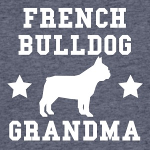 French Bulldog Grandma - Men's 50/50 T-Shirt