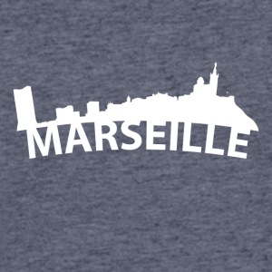 Arc Skyline Of Marseille France - Men's 50/50 T-Shirt