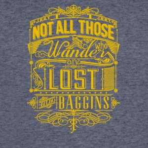 Not all those wander who lost baggins - Men's 50/50 T-Shirt