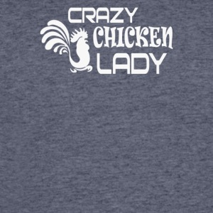 Crazy Chicken Lady - Men's 50/50 T-Shirt