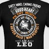 I AM A LEO - Men's Ringer T-Shirt