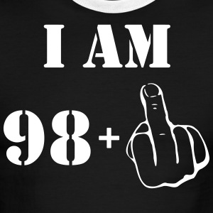 99th Birthday T Shirt 98 + 1 Made in 1918 - Men's Ringer T-Shirt