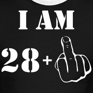 29th Birthday T Shirt 28 + 1 Made in 1988 - Men's Ringer T-Shirt