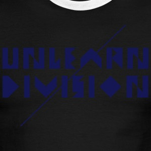 Unlearn Division - Men's Ringer T-Shirt