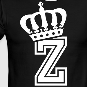Name: Letter Z Character Z Case Z Alphabetical Z - Men's Ringer T-Shirt