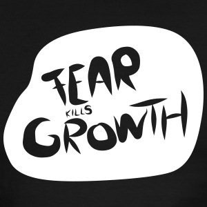Fear kills Growth - Men's Ringer T-Shirt