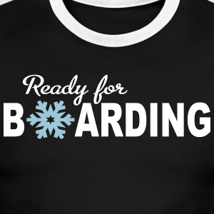 Snowboard - Men's Ringer T-Shirt