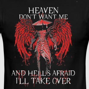 Heaven don't want me and hells afraid - Men's Ringer T-Shirt