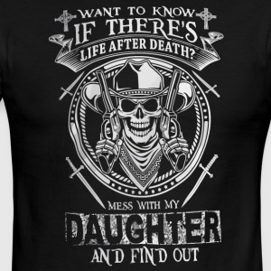 Want to know If there's life after death - Men's Ringer T-Shirt