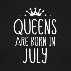 QUEENS ARE BORN IN JULY - Men's Ringer T-Shirt