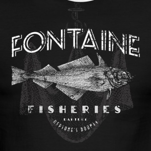 Fontaine Fisheries - Men's Ringer T-Shirt
