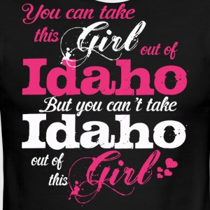 This Girl Love Idaho - Men's Ringer T-Shirt