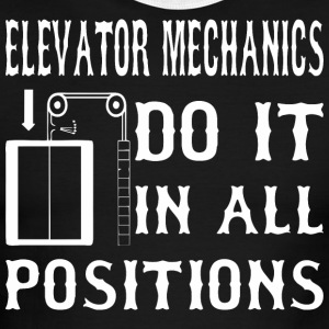 Elevator Mechanics Do It In All Positions - Men's Ringer T-Shirt