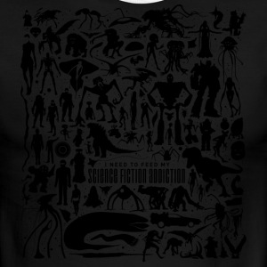 Science Fiction Addiction - Men's Ringer T-Shirt