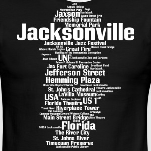 Jacksonville (Florida, USA, The River City) - Men's Ringer T-Shirt