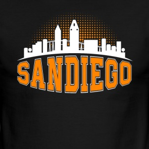 SAN DIEGO SIGN SHIRT - Men's Ringer T-Shirt