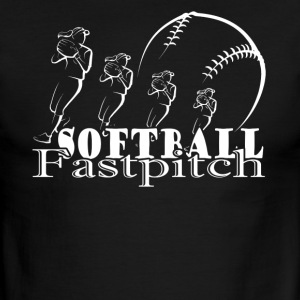 FASTPITCH SOFTBALL SHIRT - Men's Ringer T-Shirt