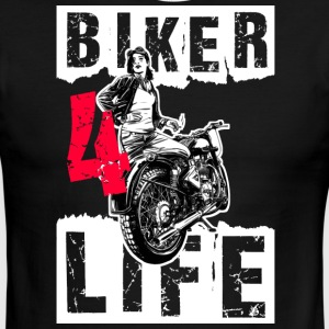 Biker - Men's Ringer T-Shirt