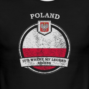 Poland It's Where My Legend Begins - Men's Ringer T-Shirt