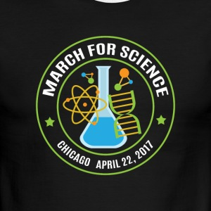 March for Science Chicago 2017 - Men's Ringer T-Shirt