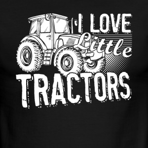 I Love Little Tractors Shirt - Men's Ringer T-Shirt