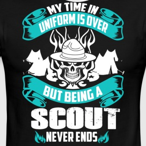 Being A Scout Never End - Men's Ringer T-Shirt