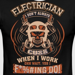 Electrician T Shirt - Men's Ringer T-Shirt