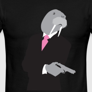 I need a walrus gangsta' - Men's Ringer T-Shirt