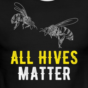 All Hives matter - Men's Ringer T-Shirt