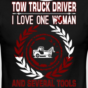 Tow Truck Driver I Love One Woman Several Tools - Men's Ringer T-Shirt