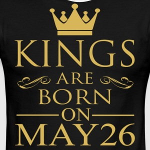 Kings are born on May 26 - Men's Ringer T-Shirt