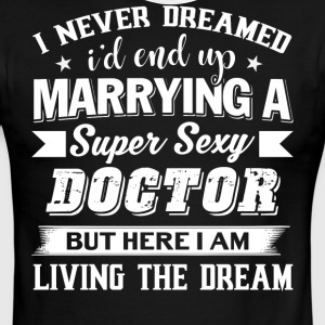 I'd End Up Marrying A Doctor T Shirt - Men's Ringer T-Shirt